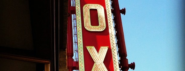 The Fox Theatre is one of Atlanta's Best Performing Arts - 2012.