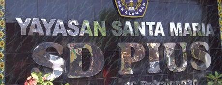 SD PIUS is one of Pekalongan World of Batik.