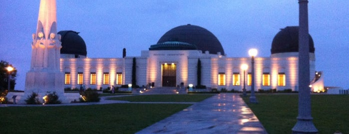 Griffith Observatory is one of LA and beach cities as a local.