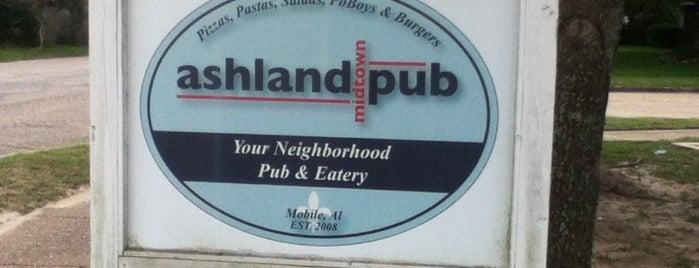 Ashland Pub is one of Places I go often.