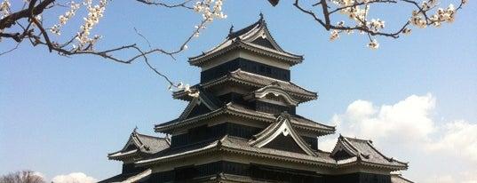 Matsumoto Castle is one of 日本の都市公園100選.