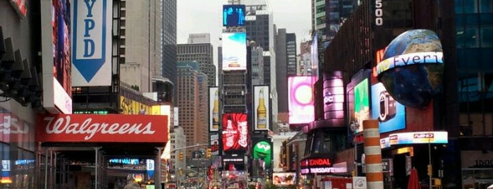 Times Square is one of Destination of the Day.