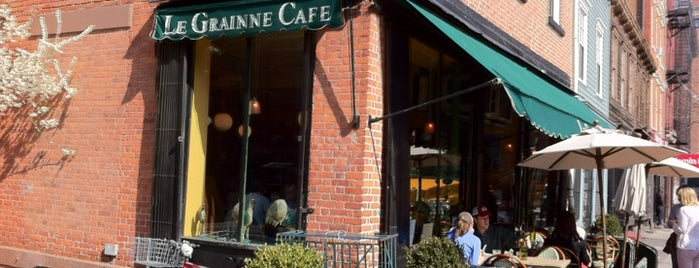 Le Grainne Cafe is one of nyc.