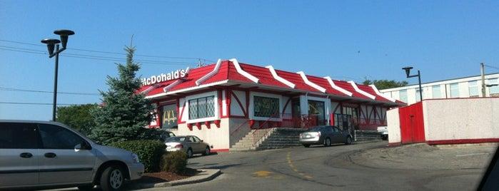 McDonald's is one of Kitchener.