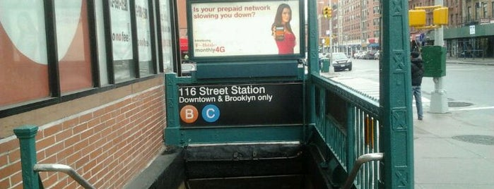 MTA Subway - 116th St (B/C) is one of Subway Stations.