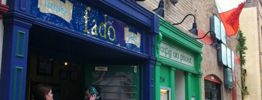 Fadó Irish Pub & Restaurant is one of 26 Most Reviewed Austin Places on Fondu.