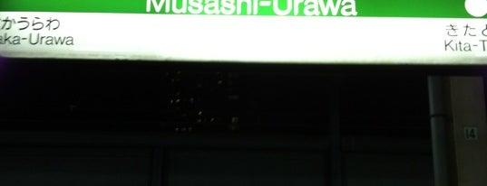 Musashi-Urawa Station is one of 東京近郊区間主要駅.