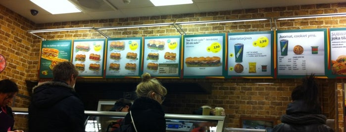 Subway is one of Vakiot.