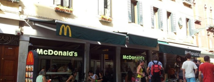 McDonald's is one of Italy 2011.