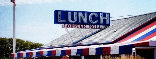 The Lobster Roll Restaurant is one of MTK.