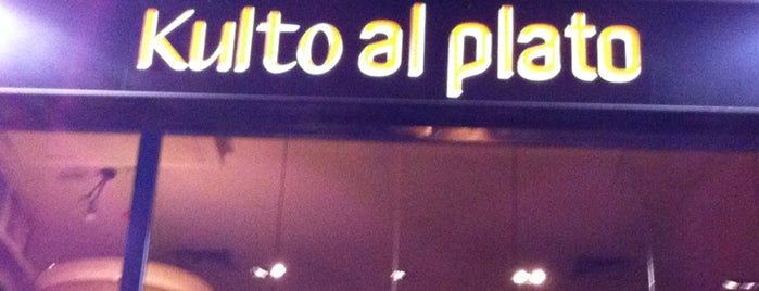 Kulto al plato is one of Comer en Madrid.