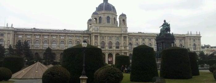 Naturhistorisches Museum is one of StorefrontSticker #4sqCities: Vienna.