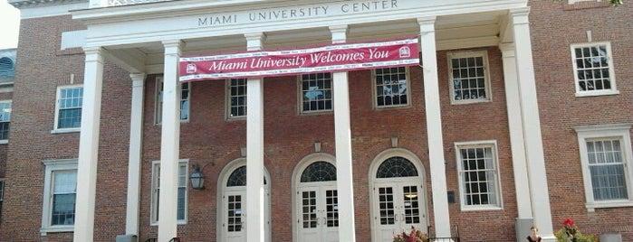 Shriver Center is one of Miami U.