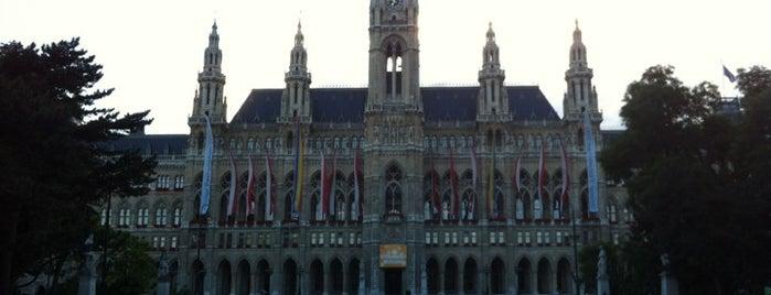 Rathausplatz is one of StorefrontSticker #4sqCities: Vienna.