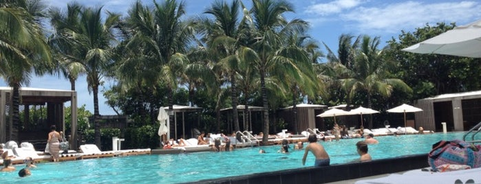 W South Beach is one of 50 Best Swimming Pools in the World.