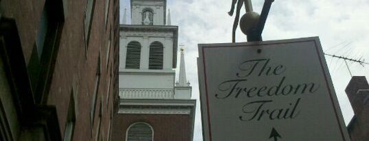 The Old North Church is one of Paranormal Traveler.