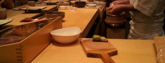 Shinji by Kanesaka is one of The 15 Best Places for Sushi in Singapore.
