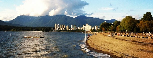 Kitsilano Beach is one of CAN - Vancouver, BC.