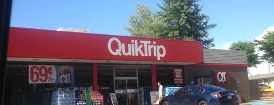 QuikTrip is one of places.