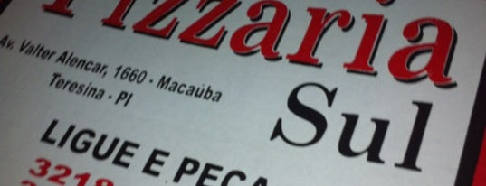 Pizzaria Sul is one of Mayor list ;).
