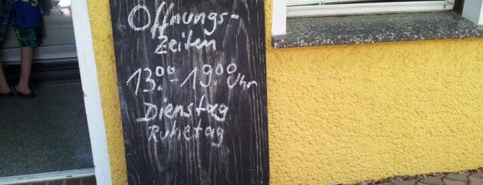 Eiscafe im Grünen - Zesch am See is one of Brandenburg Blog.