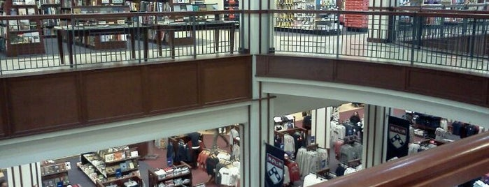 Penn Bookstore is one of Favourite Places.