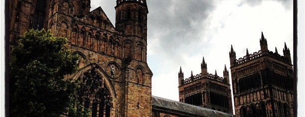 Durham Cathedral is one of Harry Potter & The Mayor Of Diagon Alley.