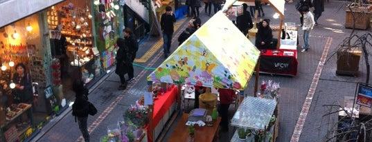 サムジギル is one of Seoul #4sqCities.