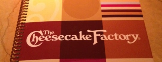 The Cheesecake Factory is one of 20 favorite restaurants in DFW.
