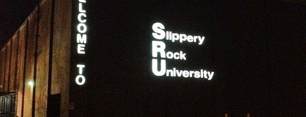 Slippery Rock University is one of College Love - Which will we visit Fall 2012.