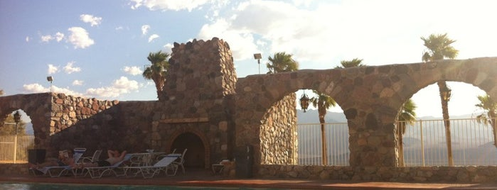 Furnace Creek Inn is one of Historic Hotels to Visit.
