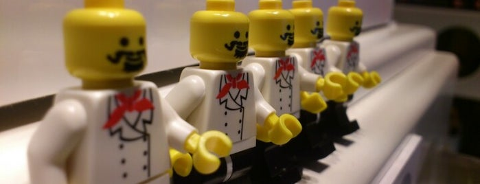 The LEGO Store is one of Brighton.