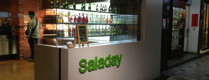 Saladay is one of Yum.