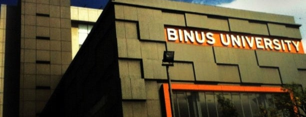 BINUS University is one of most visited places.