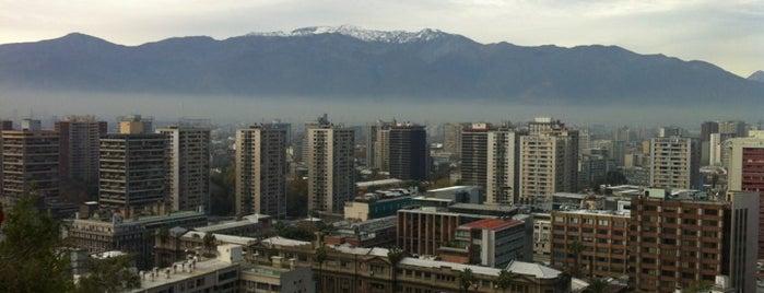 Cerro Santa Lucía is one of Para visitar en Santiago.
