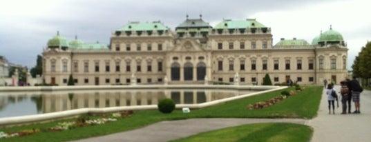 Oberes Belvedere is one of StorefrontSticker #4sqCities: Vienna.