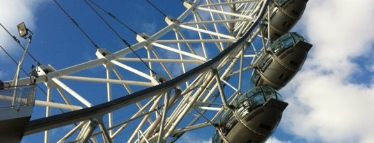 The London Eye is one of World Sites.