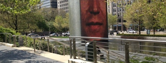 Crown Fountain is one of Two days in Chicago, IL.
