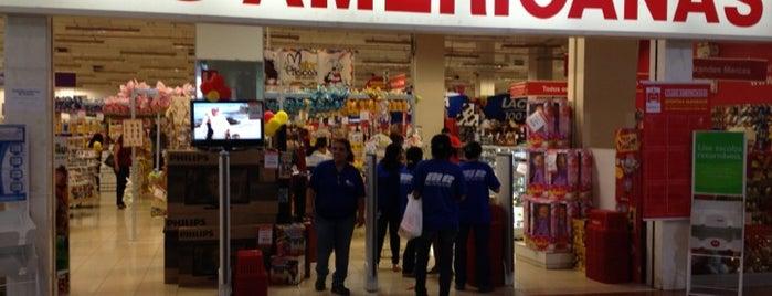 Lojas Americanas is one of comércio & serviços.
