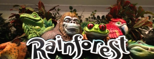 Rainforest Café is one of Favorite Kid Places in Chicago.