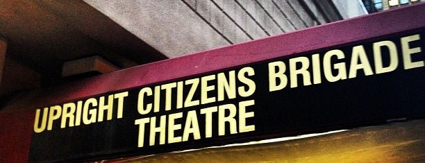 Upright Citizens Brigade Theatre is one of Free/dirt cheap NYC places to take out-of-towners.