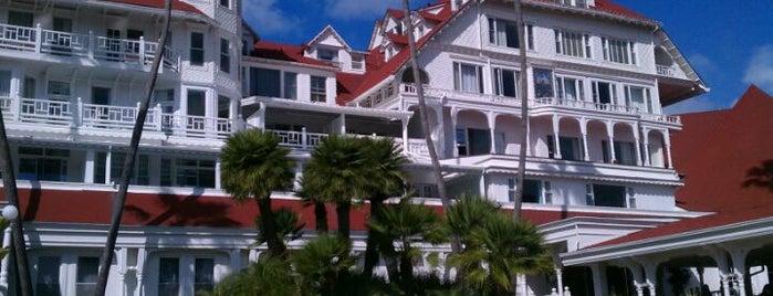 Hotel del Coronado is one of Favorite Haunts Insane Diego.