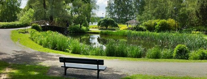 Arboretum is one of Harrasteet, puistot & muut mestat.