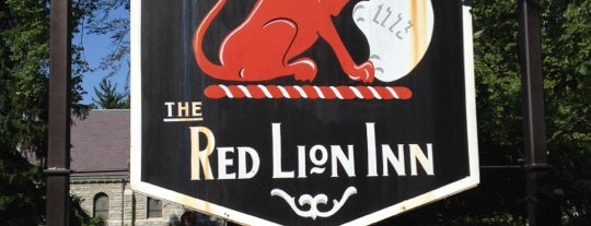 Red Lion Inn is one of Historic Hotels to Visit.