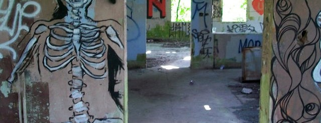Fort Tilden National Park is one of Abandoned NYC.