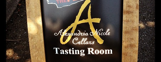 Alexandria Nicole Cellars is one of Woodinville Wineries.