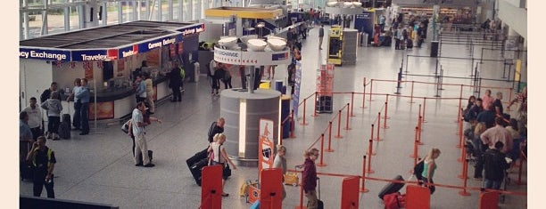 Bristol Airport (BRS) is one of Airports.