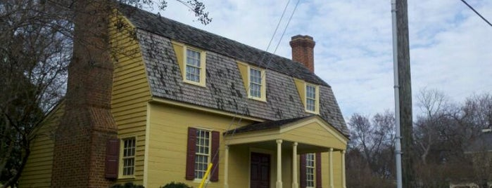 Joel Lane Museum House is one of Welcome to Raleighwood! #visitUS.