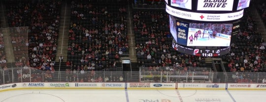 Prudential Center is one of JYM Hockey Arenas TOP100.