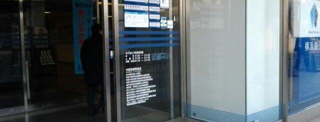 横浜銀行 新横浜支店 is one of 新横浜マップ.
